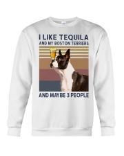 Tequila and Boston Terriers kp Crewneck Sweatshirt thumbnail