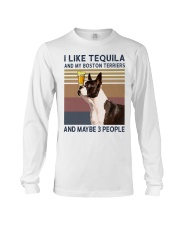 Tequila and Boston Terriers kp Long Sleeve Tee thumbnail