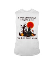 Witch Wine Doberman Pinscher Sleeveless Tee thumbnail