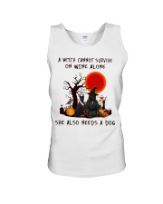 Witch Wine Doberman Pinscher Unisex Tank thumbnail