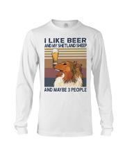 Beer and Shetland Sheep Long Sleeve Tee thumbnail