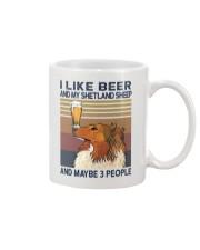 Beer and Shetland Sheep Mug thumbnail