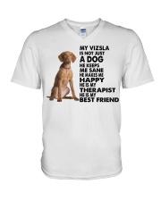 My Vizsla V-Neck T-Shirt thumbnail