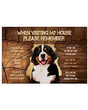 Visit home Bernese Mountain 17x11 Poster thumbnail