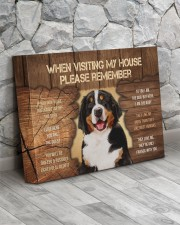 Visit home Bernese Mountain 14x11 Gallery Wrapped Canvas Prints aos-canvas-pgw-14x11-lifestyle-front-13