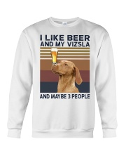 Beer and Vizsla hp Crewneck Sweatshirt thumbnail