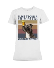 Tequila and Pit Bull Premium Fit Ladies Tee thumbnail