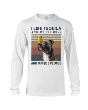 Tequila and Pit Bull Long Sleeve Tee thumbnail