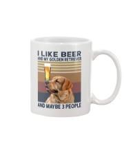 Beer and Golden Retriever Mug thumbnail