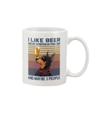 Beer and Doberman Pinscher Mug thumbnail