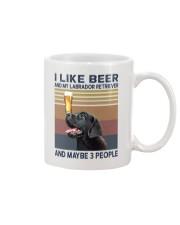 beer and Black Labrador Mug thumbnail