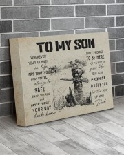 21A HUNTING-TO MY SON 14x11 Gallery Wrapped Canvas Prints aos-canvas-pgw-14x11-lifestyle-front-12