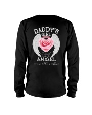 Daddy's Girl Angel Black Long Sleeve Tee thumbnail