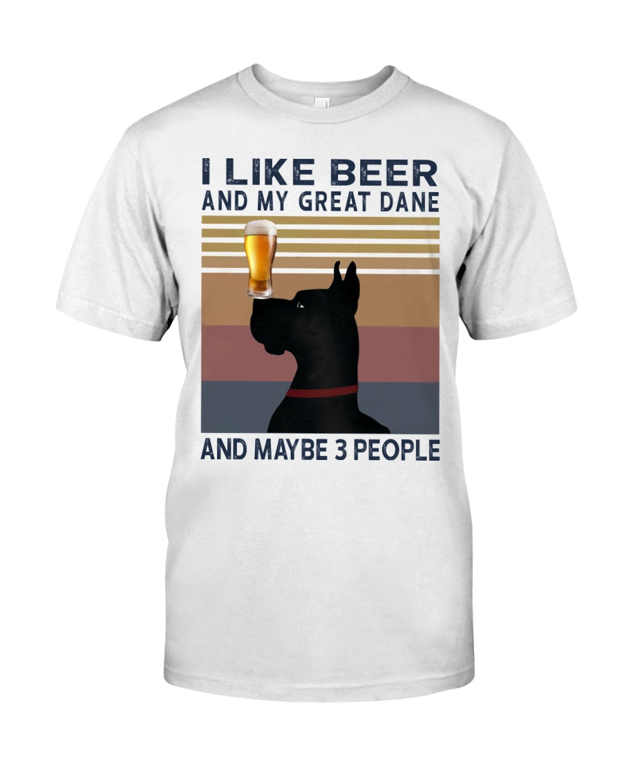 Beer and Great Dane Classic T-Shirt