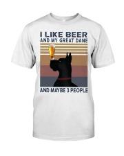 Beer and Great Dane Premium Fit Mens Tee thumbnail