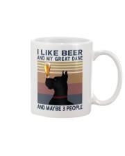 Beer and Great Dane Mug thumbnail