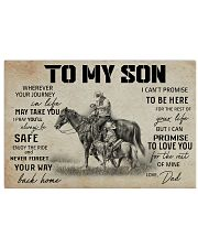 11 HORSE TO MY SON 17x11 Poster thumbnail