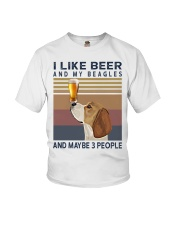 Beer and Beagles Youth T-Shirt thumbnail