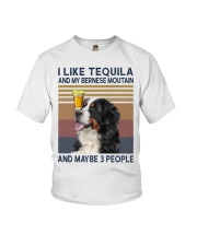 Tequila and bernese moutain Youth T-Shirt thumbnail
