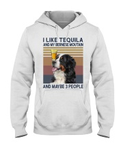 Tequila and bernese moutain Hooded Sweatshirt thumbnail