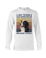 Tequila and bernese moutain Long Sleeve Tee thumbnail