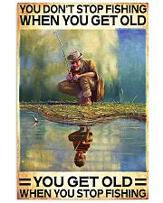 FISHING - DON'T GET OLD 11x17 Poster thumbnail