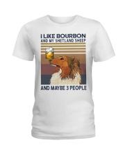 Bourbon and Shetland Sheep Ladies T-Shirt thumbnail