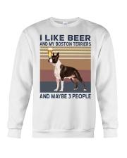 beer and Boston Terriers hp Crewneck Sweatshirt thumbnail
