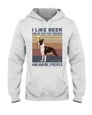 beer and Boston Terriers hp Hooded Sweatshirt thumbnail
