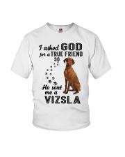 Vizsla Asked God Youth T-Shirt thumbnail