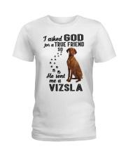 Vizsla Asked God Ladies T-Shirt thumbnail