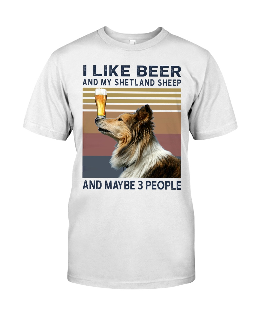 Beer and Shetland Sheep hp Classic T-Shirt