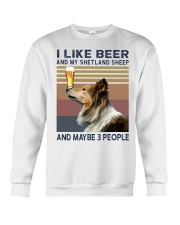 Beer and Shetland Sheep hp Crewneck Sweatshirt thumbnail