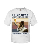Beer and Shetland Sheep hp Youth T-Shirt thumbnail
