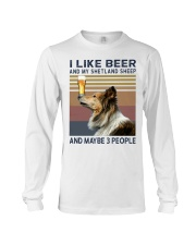 Beer and Shetland Sheep hp Long Sleeve Tee thumbnail