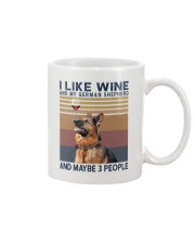 Wine and German Shepherd Mug thumbnail