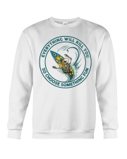 SURFING - CHOOSE SOMETHING FUN Crewneck Sweatshirt thumbnail