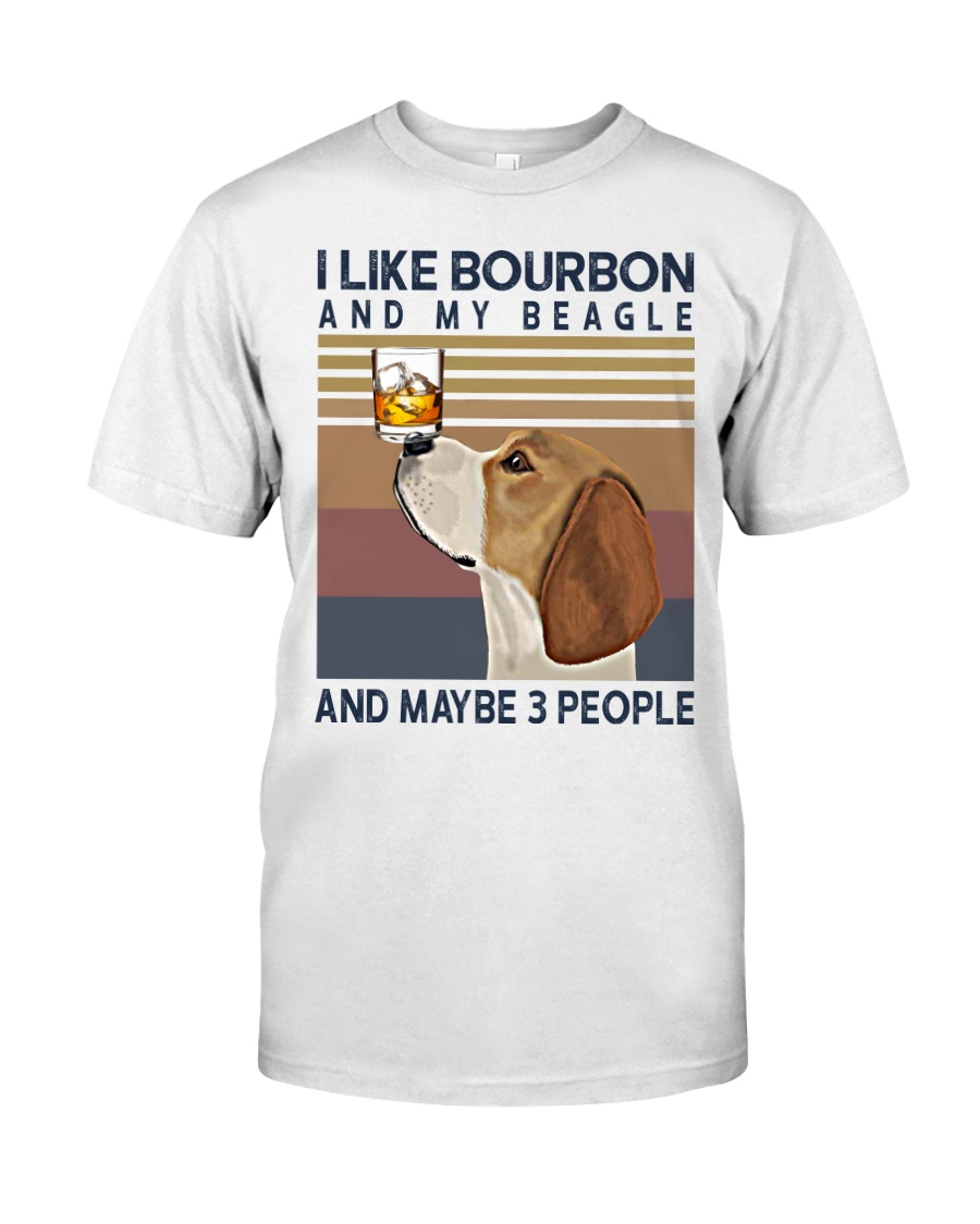 Bourbon and Beagle Classic T-Shirt