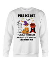 PISS ME OFF Miniature Schnauzer Crewneck Sweatshirt thumbnail
