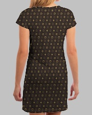 XP Turtle Man All-over Dress aos-dress-back-lifestyle-3