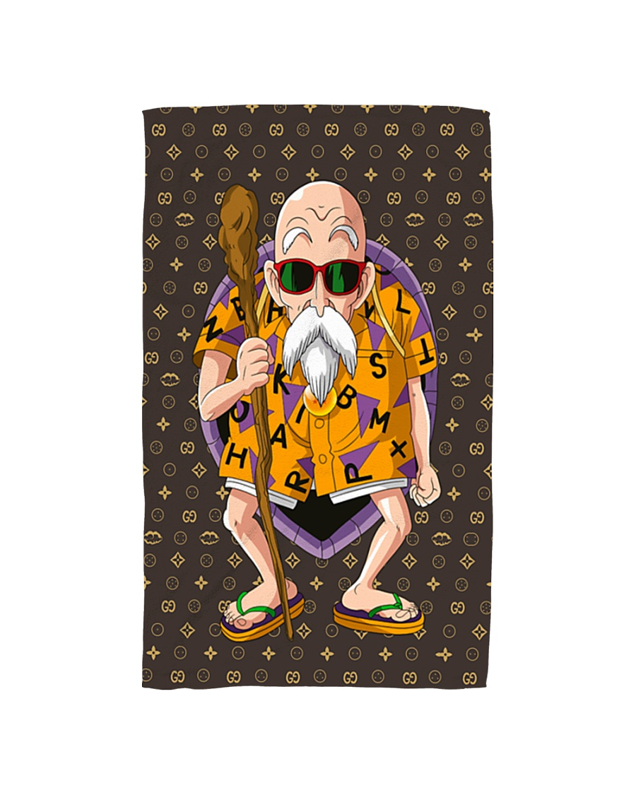 XP Turtle Man Hand Towel