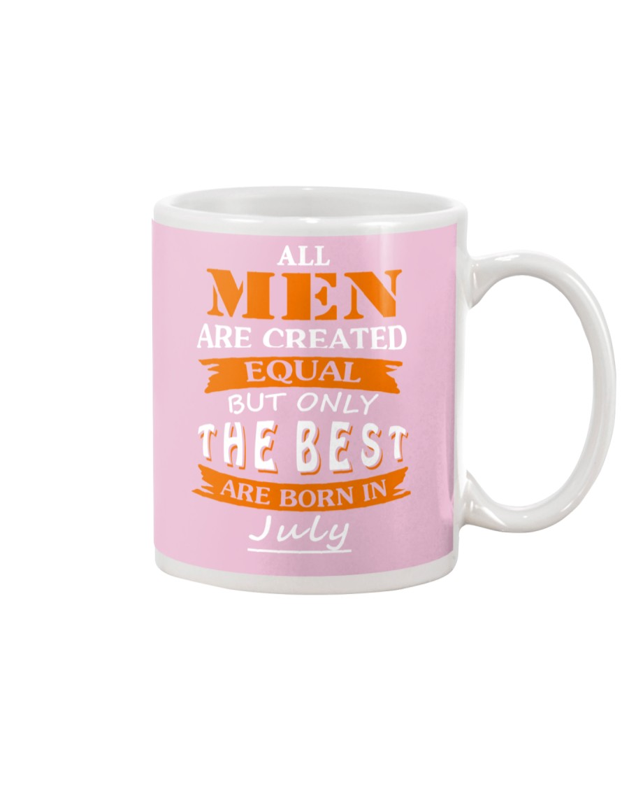 The Best Are Born In July Mug