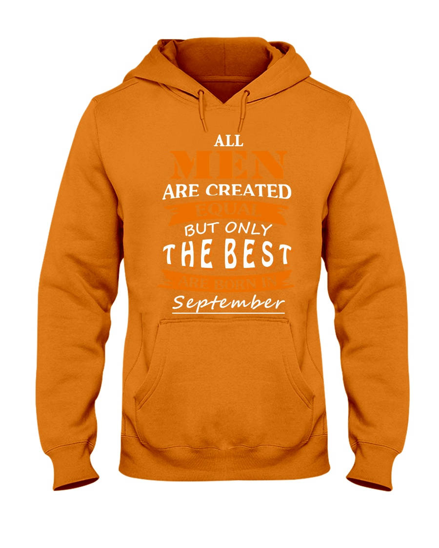 The Best Are Born In September Hooded Sweatshirt