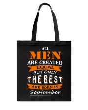 The Best Are Born In September Tote Bag thumbnail