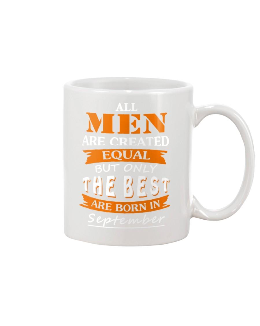 The Best Are Born In September Mug
