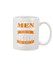 The Best Are Born In September Mug front