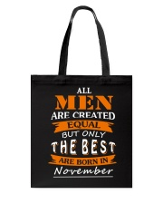 The Best Are Born In November Tote Bag thumbnail