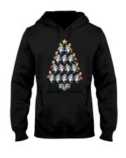 Santa Shark Xmas Tree Tshirt Elf Shark Funny Tee f Hooded Sweatshirt thumbnail