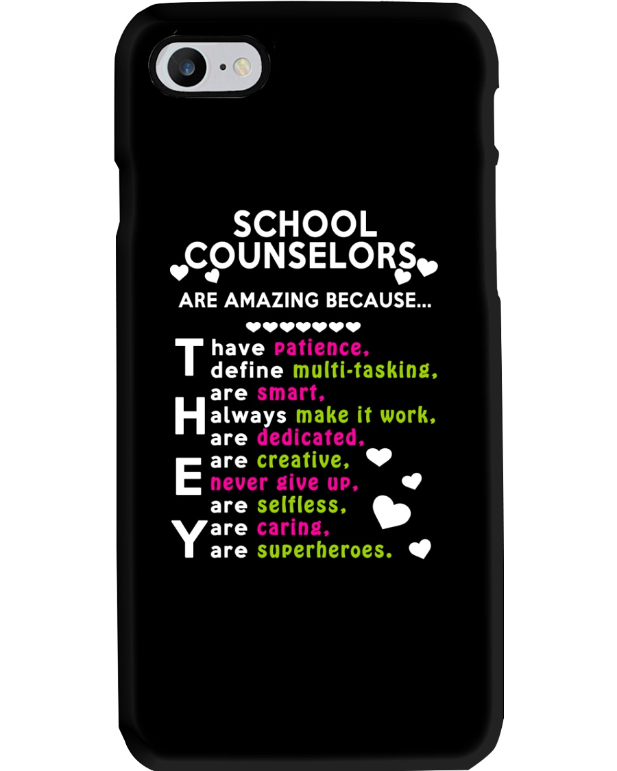 School Counselors are Amazing Phone Case