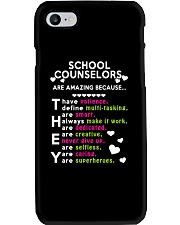 School Counselors are Amazing Phone Case i-phone-7-case